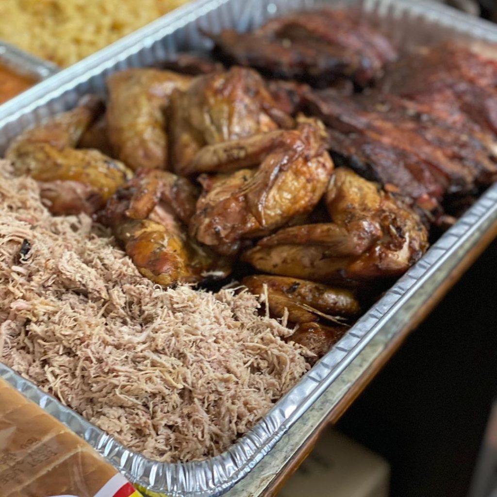 Crowe's BBQ platter